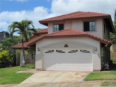 Single Family Home For Sale: 91-1522 Wahane Street