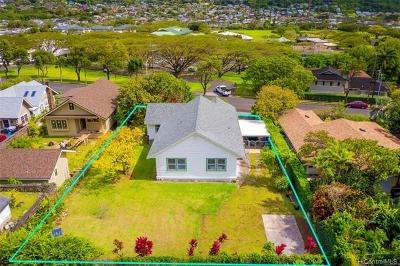Single Family Home For Sale: 3044 Manoa Road