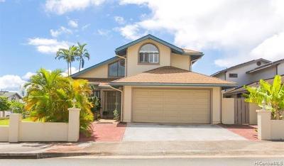 Mililani Single Family Home For Sale: 94-1029 Ahiu Place
