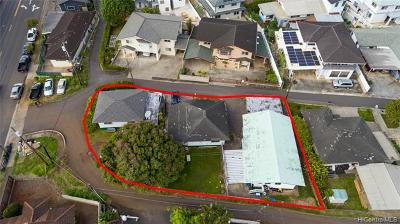 Honolulu Single Family Home For Sale: 1747 Lanakila Avenue #D1A