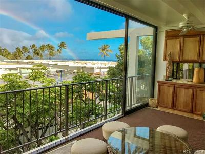 Condo/Townhouse For Sale: 4999 Kahala Avenue #469