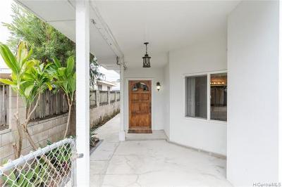 Kailua Single Family Home For Sale: 618a Halela Street