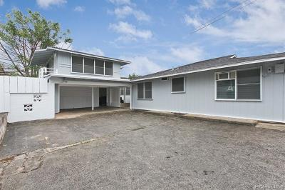 Aiea Single Family Home For Sale: 99-1159b Aiea Heights Drive
