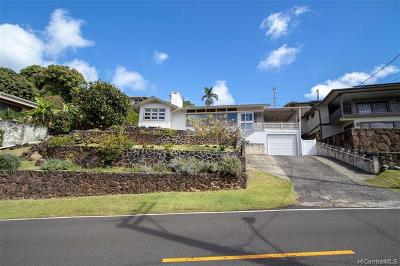 Honolulu Single Family Home For Sale: 3066 Pacific Hts Road