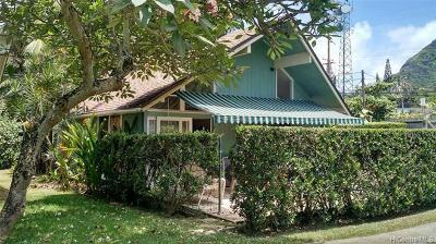 Honolulu County Single Family Home For Sale: 51-529 Kamehameha Highway #7