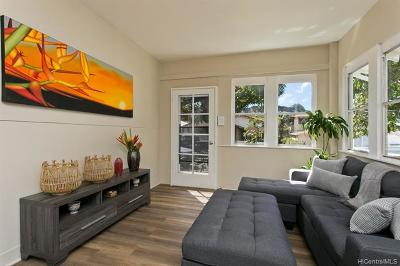Honolulu Single Family Home For Sale: 3134 Esther Street