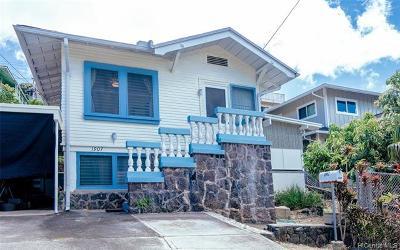 Honolulu Single Family Home For Sale: 1907 Aupuni Street