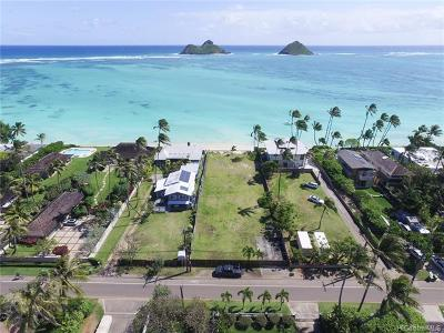 Kailua Single Family Home For Sale: 1318 Mokulua Drive