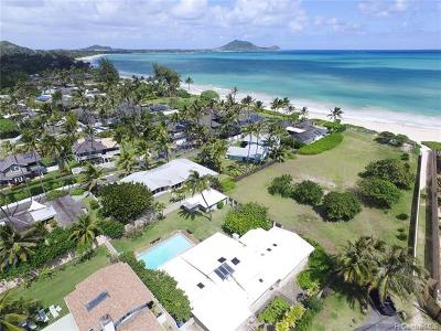 Kailua Single Family Home For Sale: 144 Kaapuni Drive