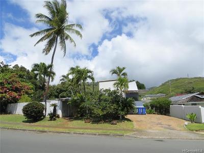 Single Family Home For Sale: 4510 Waikui Street