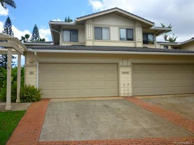 Mililani Condo/Townhouse For Sale: 95-230 Waioleka Street #42