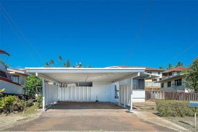 Waipahu Single Family Home For Sale: 94-225 Pupukoae Street