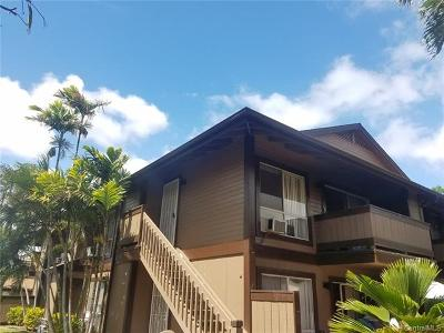 Ewa Beach Condo/Townhouse For Sale: 91-1030 Puamaeole Street #7U