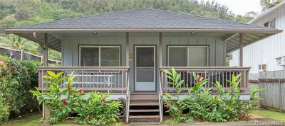 Haleiwa Single Family Home For Sale: 59-502 Kamehameha Highway #A
