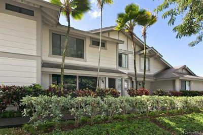 Aiea Condo/Townhouse For Sale: 98-1819 Kaahumanu Street #C