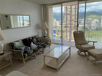 Central Oahu, Diamond Head, Ewa Plain, Hawaii Kai, Honolulu County, Kailua, Kaneohe, Leeward Coast, Makakilo, Metro Oahu, North Shore, Pearl City, Waipahu Rental For Rent: 1925 Kalakaua Avenue #2307