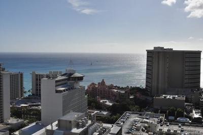 Hawaii County, Honolulu County Condo/Townhouse For Sale: 2240 Kuhio Avenue #3205