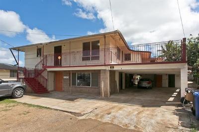 Waialua Single Family Home For Sale: 67-426 Haona Street