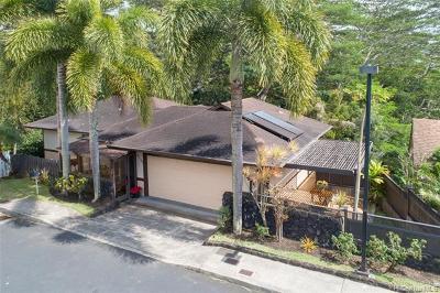 Aiea Single Family Home For Sale: 99-1381 Aiea Heights Drive #10