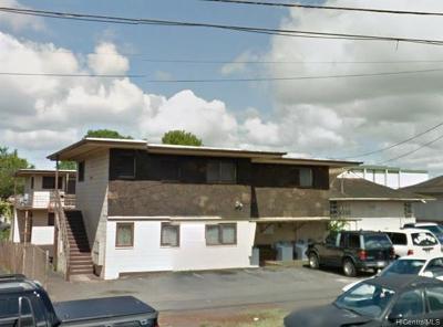 Central Oahu, Diamond Head, Ewa Plain, Hawaii Kai, Honolulu County, Kailua, Kaneohe, Leeward Coast, Makakilo, Metro Oahu, North Shore, Pearl City, Waipahu Rental For Rent: 243 Koa Street #4