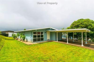 Pearl City Single Family Home For Sale: 2415 Auhuhu Street
