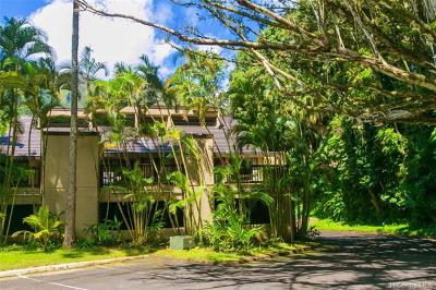 Kaneohe Condo/Townhouse For Sale: 46-369 Haiku Road #F1