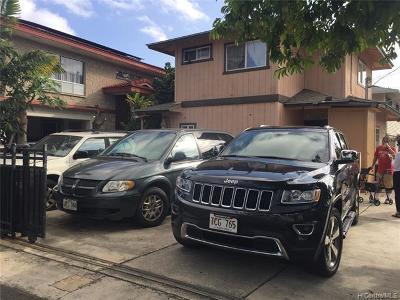 Honolulu Single Family Home For Sale: 815 Lopez Lane