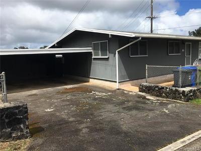 Kaneohe Rental For Rent: 45-573 Kanaka Place