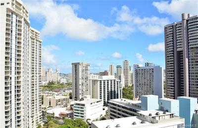 Honolulu Condo/Townhouse For Sale: 411 Hobron Lane #2201