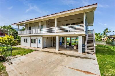 Single Family Home For Sale: 54-049 Hauula Homestead Road