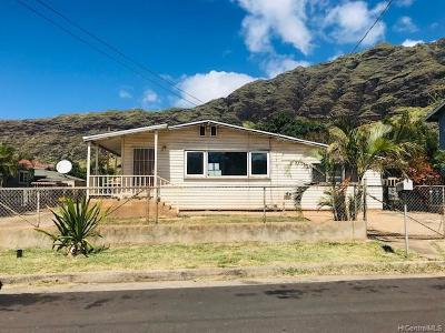 Waianae HI Single Family Home For Sale: $446,200