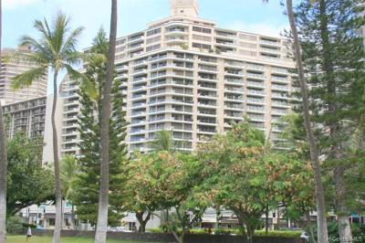 Central Oahu, Diamond Head, Ewa Plain, Hawaii Kai, Honolulu County, Kailua, Kaneohe, Leeward Coast, Makakilo, Metro Oahu, North Shore, Pearl City, Waipahu Rental For Rent: 1860 Ala Moana Boulevard #703
