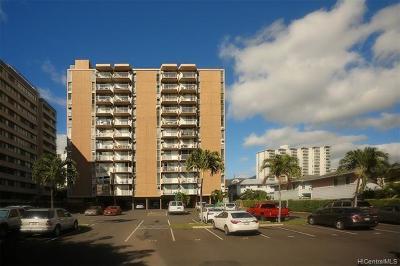 Central Oahu, Diamond Head, Ewa Plain, Hawaii Kai, Honolulu County, Kailua, Kaneohe, Leeward Coast, Makakilo, Metro Oahu, North Shore, Pearl City, Waipahu Rental For Rent: 1050 Kinau Street #708