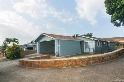 Waipahu Single Family Home For Sale: 94-652 Kahakea Street