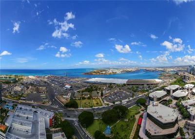 Central Oahu, Diamond Head, Ewa Plain, Hawaii Kai, Honolulu County, Kailua, Kaneohe, Leeward Coast, Makakilo, Metro Oahu, North Shore, Pearl City, Waipahu Rental For Rent: 415 South Street #3202