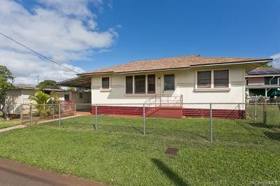 Central Oahu, Diamond Head, Ewa Plain, Hawaii Kai, Honolulu County, Kailua, Kaneohe, Leeward Coast, Makakilo, Metro Oahu, N. Kona, North Shore, Pearl City, Waipahu Single Family Home For Sale: 98 Circle Drive