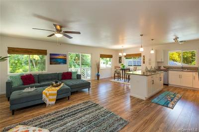 Wahiawa Single Family Home For Sale: 1817 Kalie Place #D