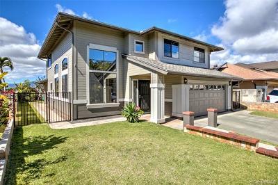 Mililani Single Family Home For Sale: 95-1047 Hookowa Street