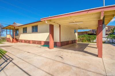 Waianae HI Single Family Home For Sale: $449,000