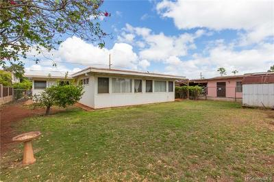 Ewa Beach Single Family Home For Sale: 91-1037 Kuhina Street