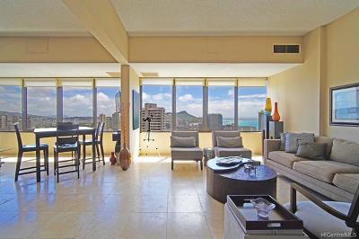 Honolulu County Condo/Townhouse For Sale: 411 Hobron Lane #3909