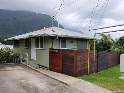 Kaneohe Single Family Home For Sale: 45-680 Apuakea Street
