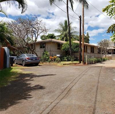 Honolulu County Single Family Home For Sale: 94-1142a Limahana Street