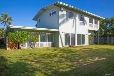Single Family Home For Sale: 228 Aikahi Loop