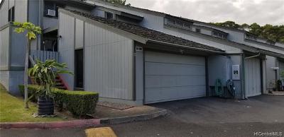 Aiea Condo/Townhouse For Sale: 98-1081 Komo Mai Drive #A