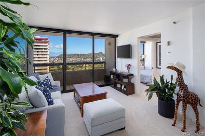 Honolulu HI Condo/Townhouse For Sale: $520,000