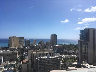 Honolulu Condo/Townhouse For Sale: 2211 Ala Wai Boulevard #P2