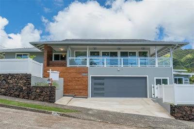Honolulu Single Family Home For Sale: 3634 Kumuone Street