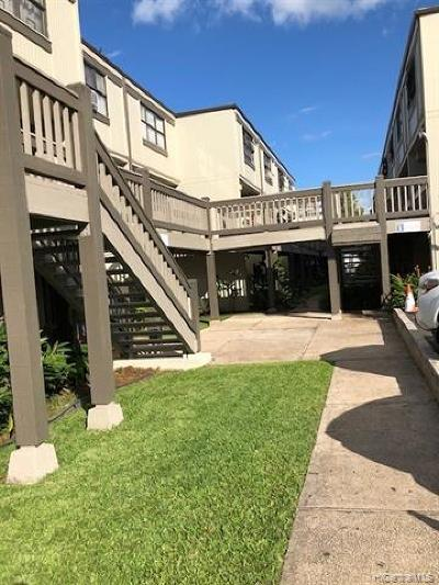 Aiea Condo/Townhouse For Sale: 310 Kamehameha Highway #113