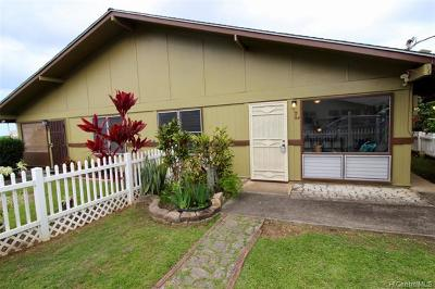 Kaneohe Condo/Townhouse For Sale: 45-077 Waikalua Road #L